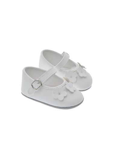 Freesure 211614 Beyaz Freesure Kız Bebek Patik Bebek Ayakkabı  Beyaz